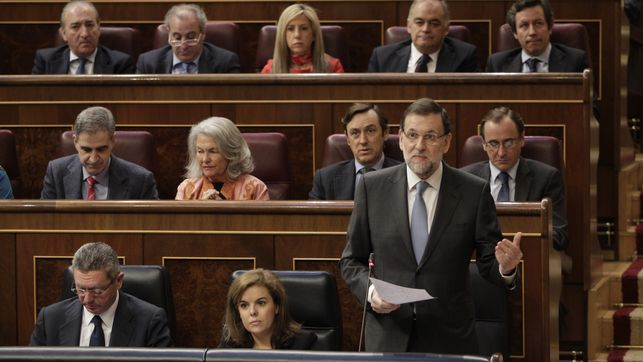 Rajoy. Debate de la nacion