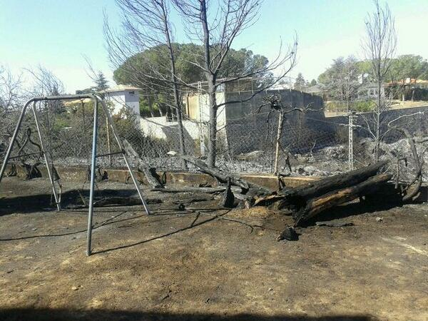 Torrent. Incendio Forestal Cumbres de Calicanto. Foto María Lahuerta