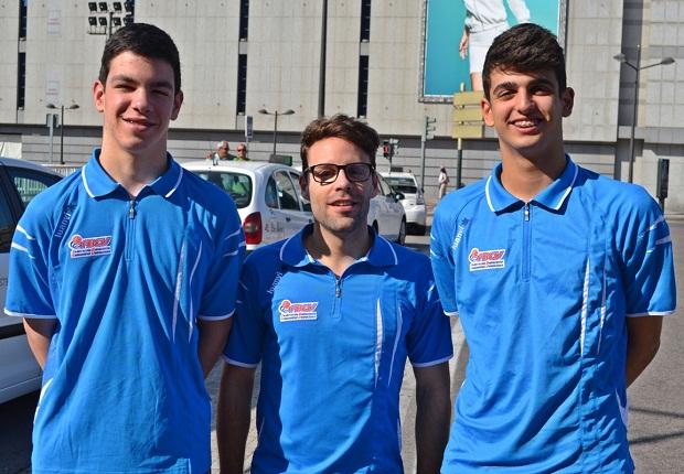 Torrent. Nou Basquet Torrent. Jovi Merencio y Miguel Palacios