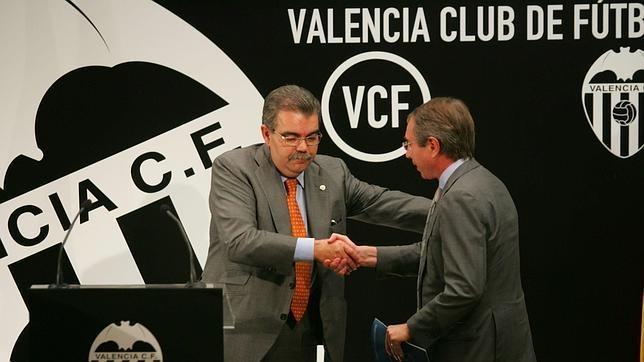 Valencia Cf. Juan Soler. Vicente Soriano