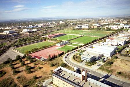 ciudad deportiva de Paterna