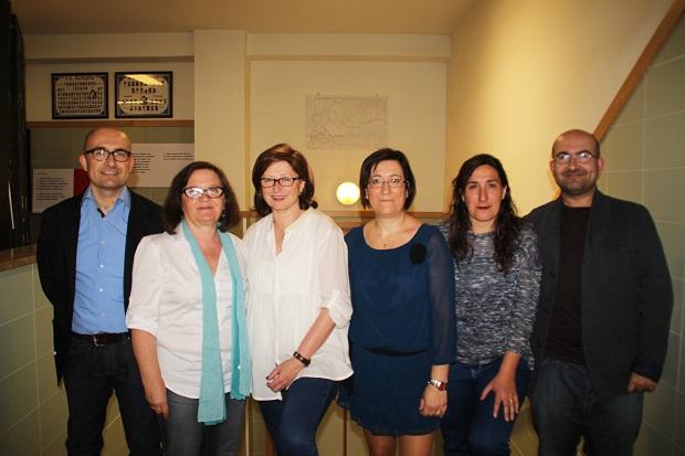 Alaquàs cedeix a l'Institut Faustí Barberà la placa escultòrica creada en honor al metge i polític valencià