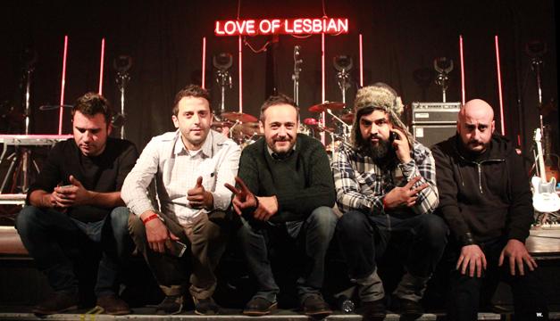 Burjassot. love of lesbian. Semifinales Sona la Dipu Pop Rock