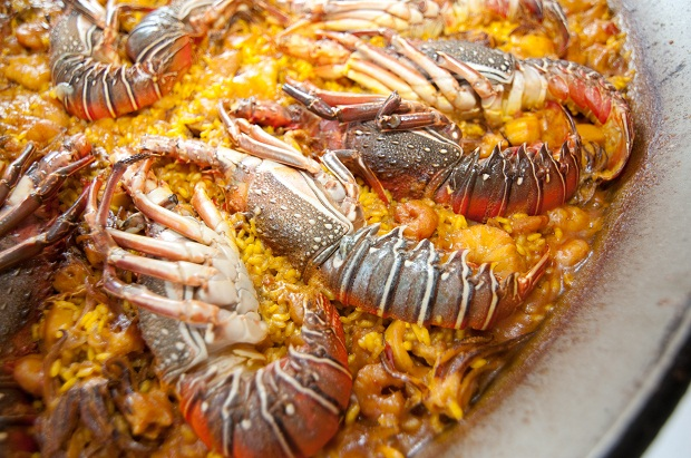 El Puig. Jornadas Gastronomicas. paella