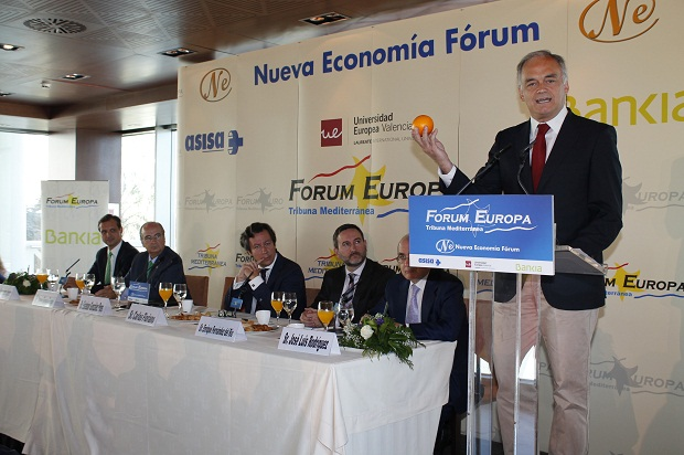 Forum Nueva Economía. González Pons. PP