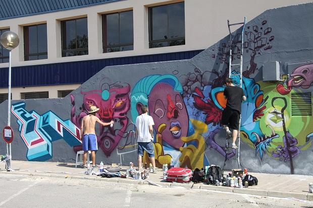 Mislata. Mislatas Representan. grafiti