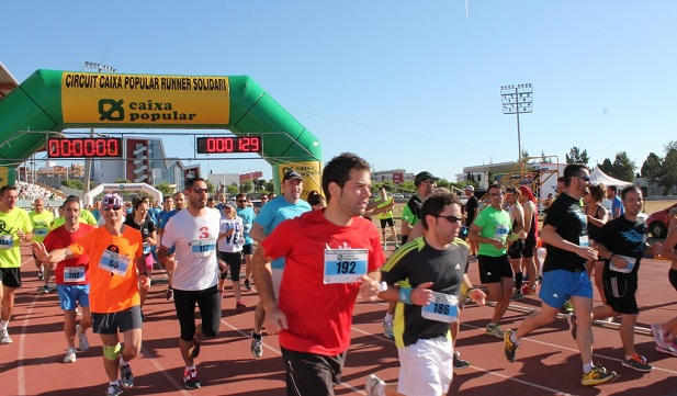 Torrent. Running solidario Caixa Popular. salida