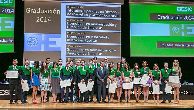ESIC. Graduacion 2014 1