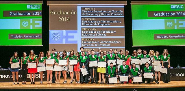 ESIC. Graduacion 2014 2
