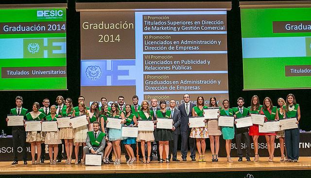 ESIC. Graduacion 2014 4