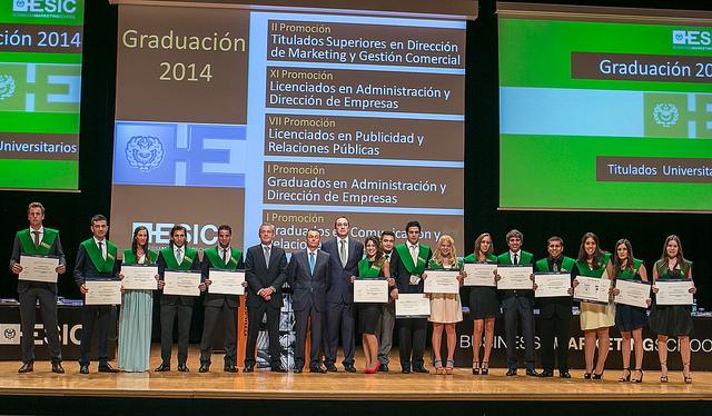 ESIC. Graduacion 2014 5