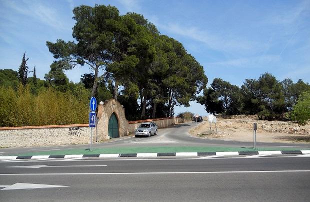 Moncada-Entrada-camino Palmar-Camarena