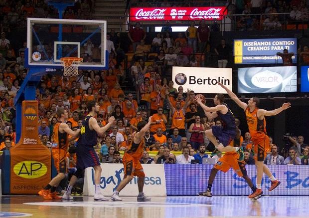 Valencia Basket. FC Barcelona. Huertas