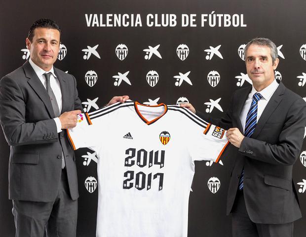CaixaBank patrocinador Valencia CF 2