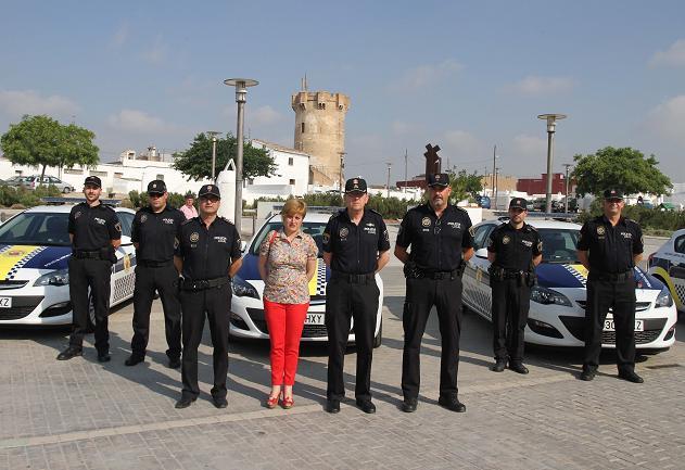 Agentes de la Policía Local de Paterna.