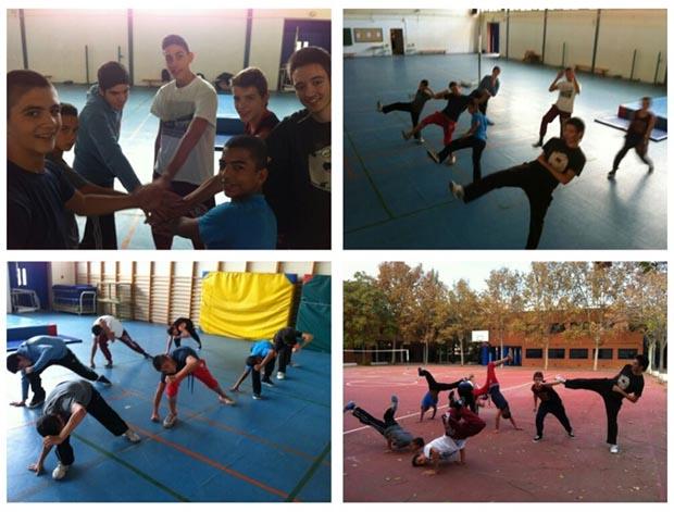 taller capoeira programa integra alfafar