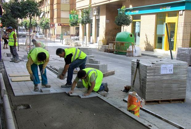 Mislata-Reurbanización-calle-Regatxo