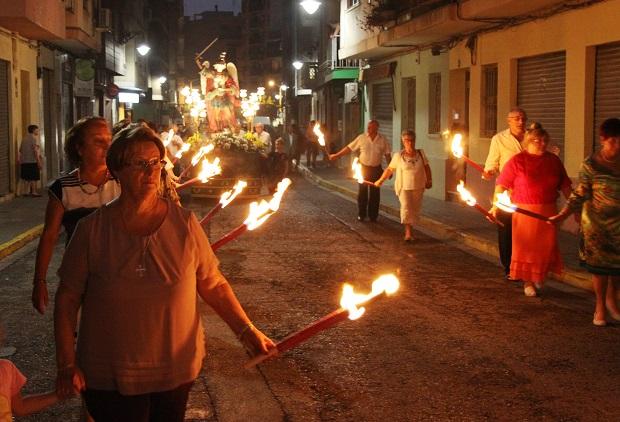 Mislata. Passejà fiestas de San Miguel