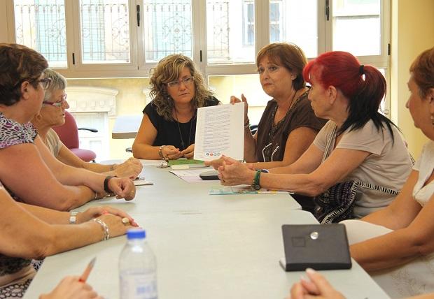 Reunión asociaciones de mujeres de Mislata