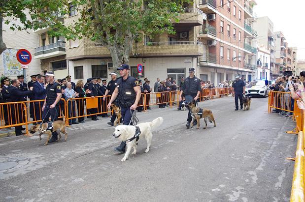día de la policía en Xirivella