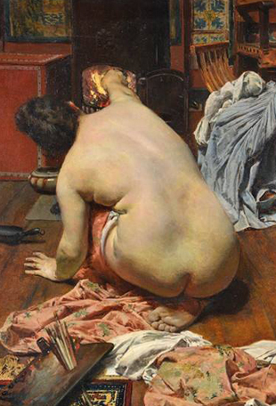 exposición alberto cortina en museo bellas artes