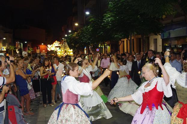 procesión Virgen de la Salud Xirivella