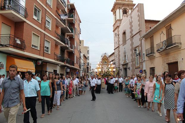 procesión fiestas patronales de rafelbunyol