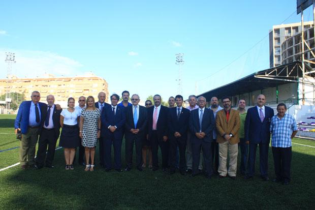 visita RFEF campo Los Silos de Burjassot