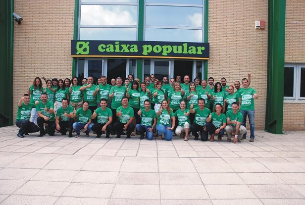 Campaña Solidaria RGA banco de alimentos caixa popular