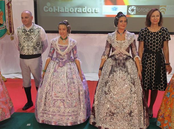Elección Falleras Mayores paterna 2015