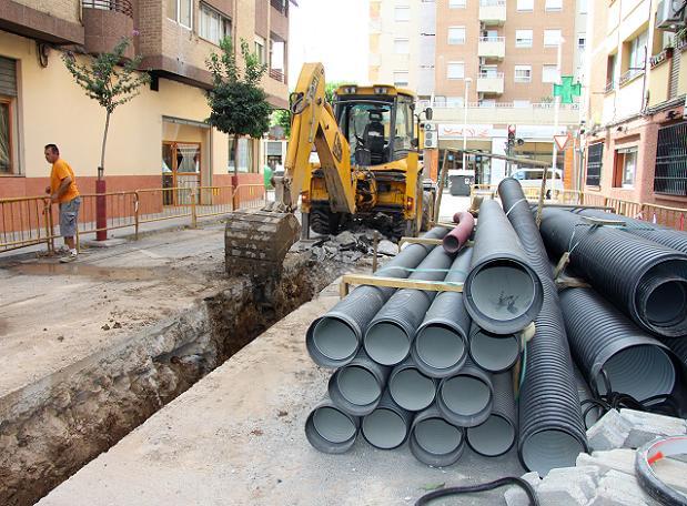 Nuevo colector calle Pizarro-2