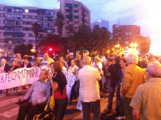 Paterna-Manifestación Arnau-La-Fe-Campanar