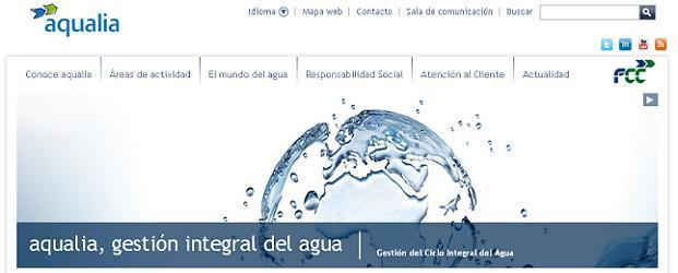 aqualia web