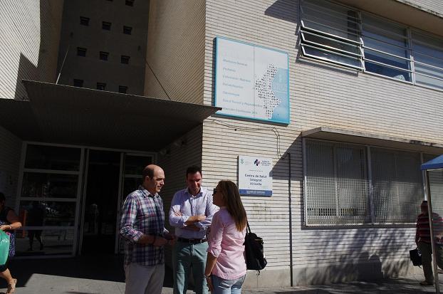 centro de salud xirivella