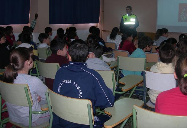 charlas campaña absentismo escolar alfafar