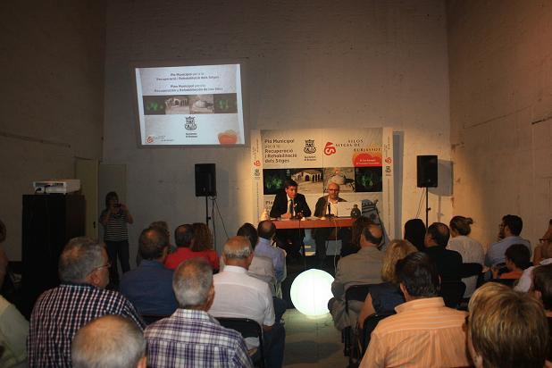 plan rehabilitación los silos burjassot
