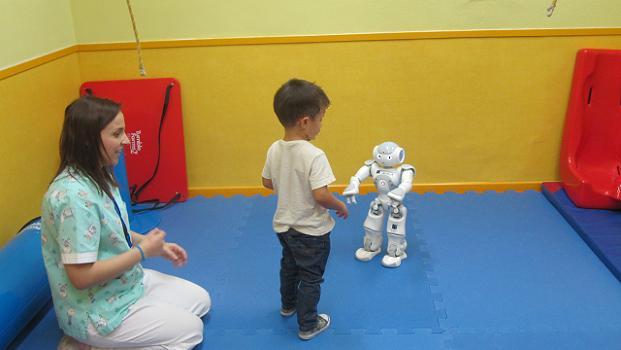robots en el hospital de manises