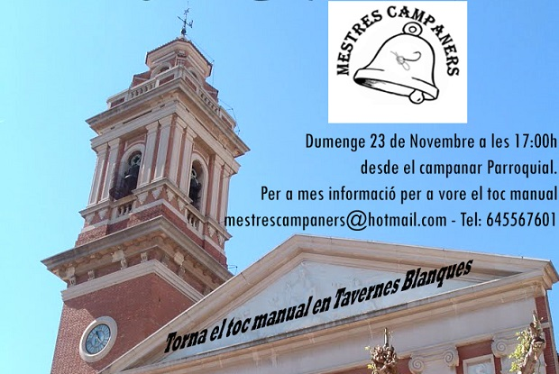 Cartell Tavernes Blanques 2014