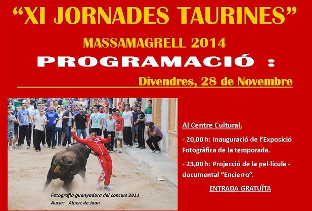 Massamagrell-Cartell-jornadas-Taurinas-2014