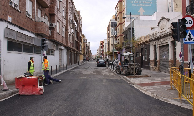 Torrent-obras-remodelacion-calle-valencia