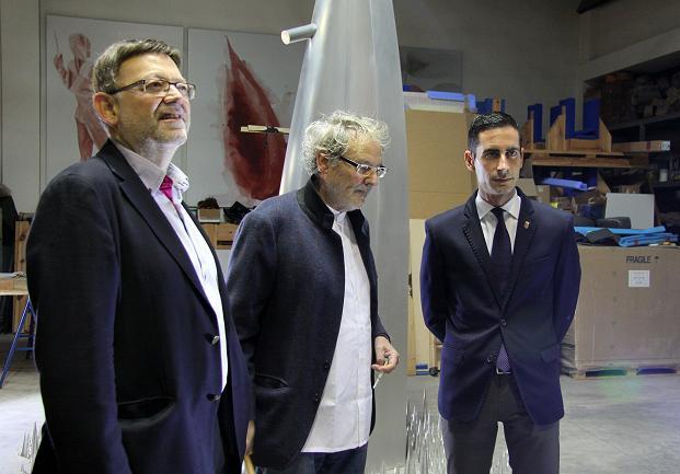Visita taller Miquel Navarro-2