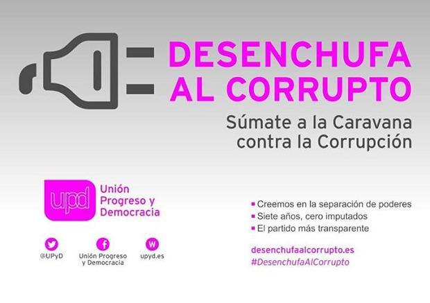 campaña corrupción UPyD