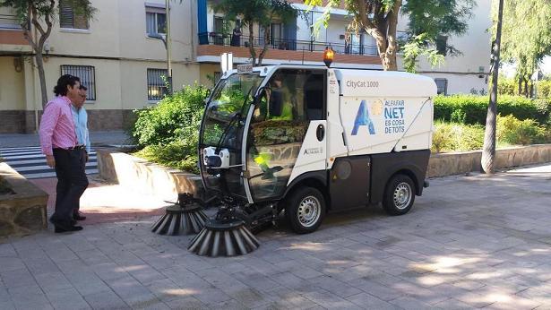 maquina limpieza alfafar gps