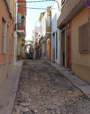obras calles centro histórico picassent