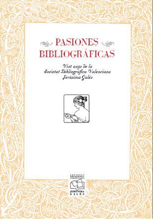 portada pasiones bibliográficas