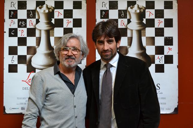 presentación documental La dama del ajedrez