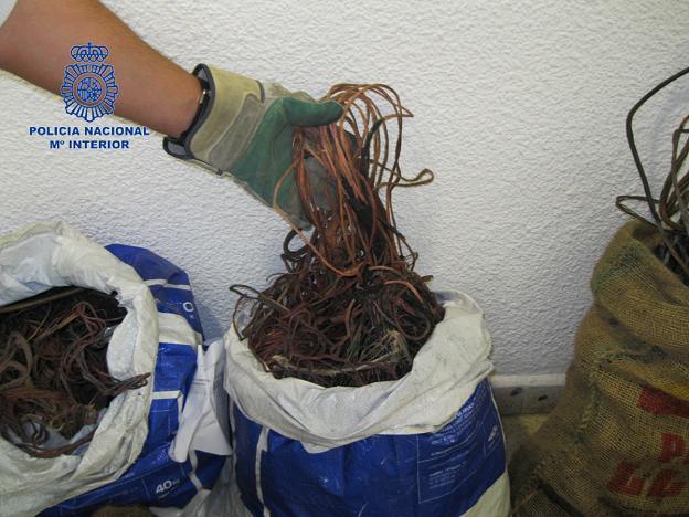 sacas de cobre Albal