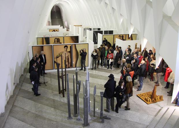 Exposición Miquel Navarro en Alcoi-1