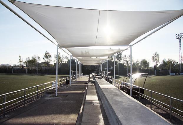 Acondicionamiento campos de fútbol Canaleta-2