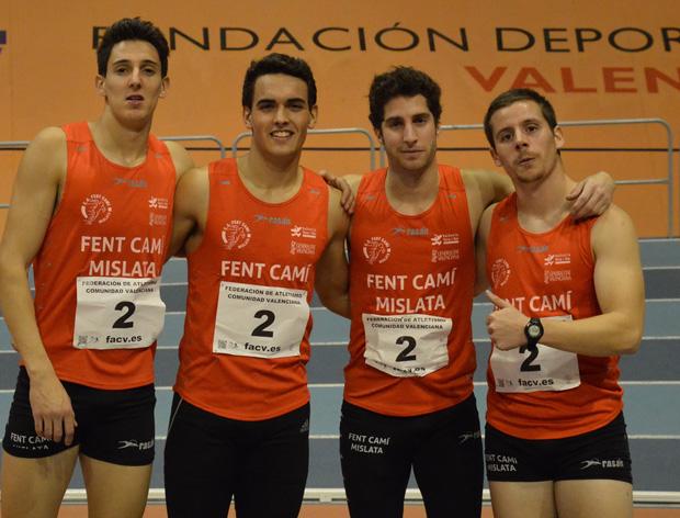 Fent Camí campeón autonómico pista cubierta-2